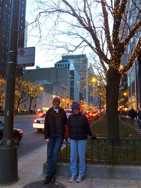 Winter Things To Do In Chicago Michigan Avenue Lights Michigan Avenue Lights