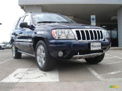 midnight blue jeep 2004 midnight blue pearl jeep grand cherokee overland 4x4