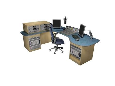 radio studio desk hollow l shaped home office desk in office desks l