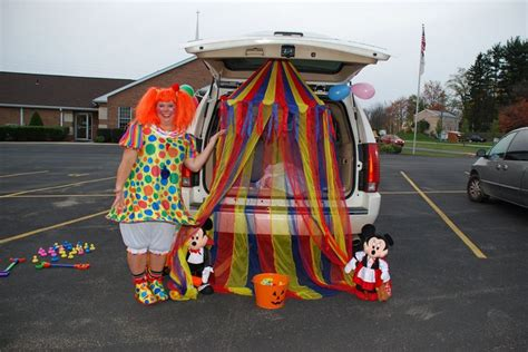 carnival themes for church trunk or treat ideas trick or treat pinterest