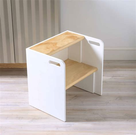 Diy Step Stool by Diy Wooden Step Stool Chair Diy