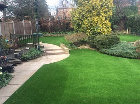 nunthorpe artificial lawn grass synthetic turf landscaping 4 lion lawns