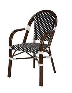 Wicker Bistro Chairs Rattan Bistro Aluminum Chairs
