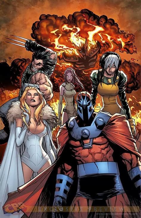 libro x men age of apocalypse the age of apocalypse wolverine blink rogue emma frost and magneto by humberto ramos