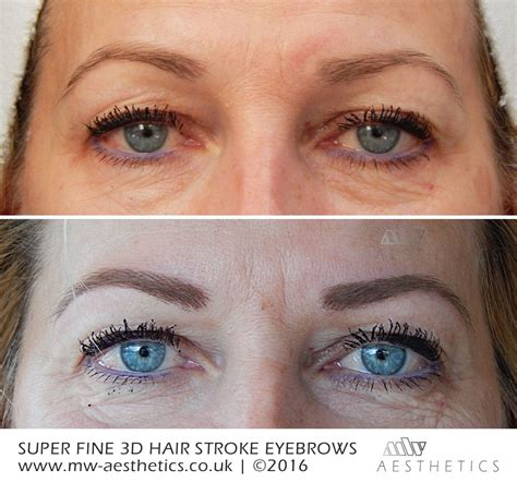 hair stroke eyebrow tattoo hair stroke eyebrows permanent makeup