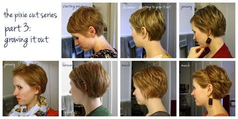 growing hair from pixie style to long style pixie cut ideas grow out project pinterest