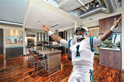 cam newton house super bowl scoring pick the best football player houses nfc edition curbed