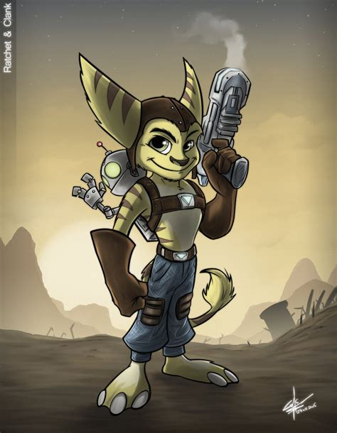 the art of ratchet ratchet n clank by slawomiro on