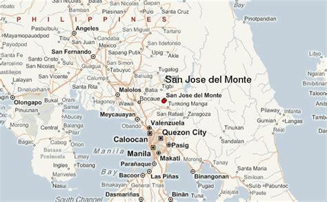 san jose philippines map san jose monte location guide
