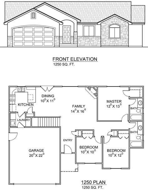 floor plans utah ranch house plans at dream home source ranch style home