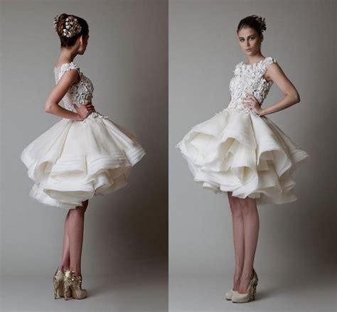 mini wedding dress naf dresses