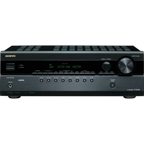 Home Theater Receiver onkyo tx sr308 5 1 channel a v home theater receiver tx sr308