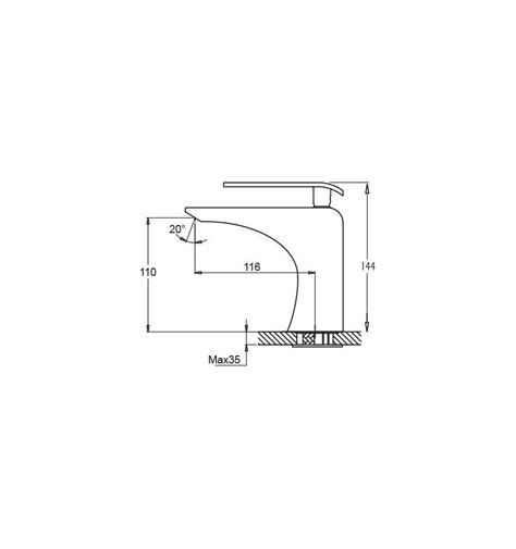 grifos de lavabo baratos grifos monomando de ba 241 o para lavabo de dise 241 o y baratos