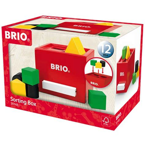 brio box brio sorting box smart kids toys