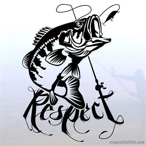 Sticker Water Decal Kode 1597 largemouth bass window sticker decal