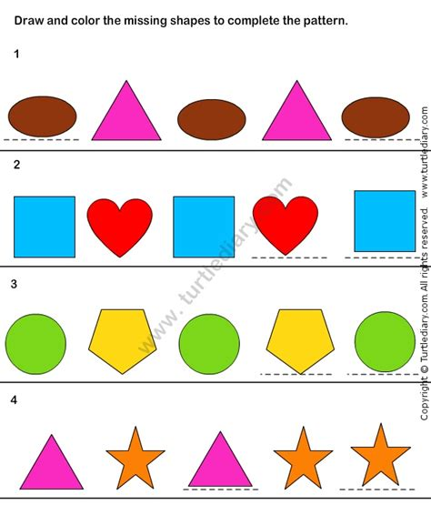 matching your pattern game 32 best images about logic and reasoning worksheets on