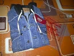 Jaket Levis Kombi Fleece Pria Keren Premium Jaket Ariel Noah jual jaket hoodie ariel modis terupdate murah