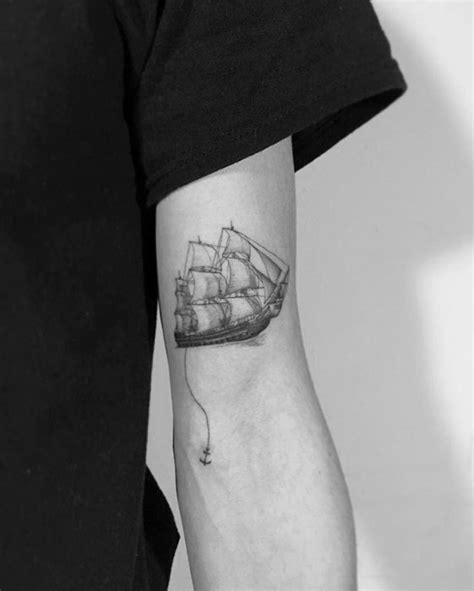 small ship tattoo designs 40 small detailed tattoos for cool complex design ideas