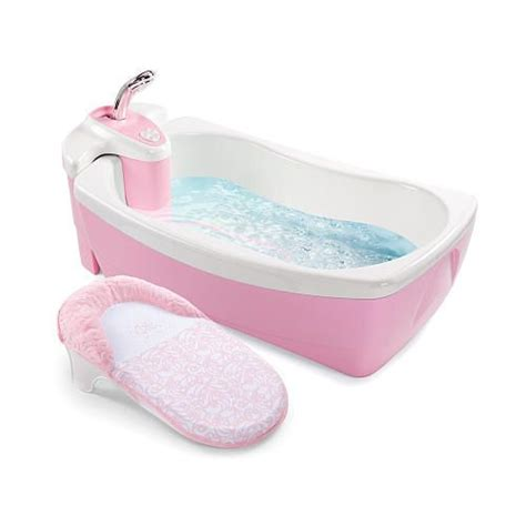 pink baby bathtub summer infant lil luxuries tub pink baby stuff pinterest