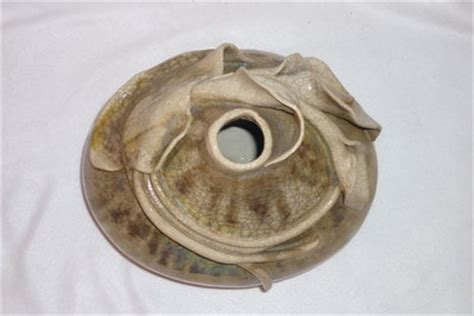 vaso con calle vaso con calle in ceramica raku per la casa e per te