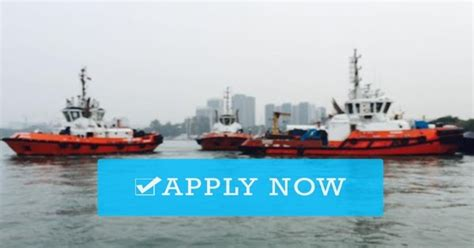 tugboat engineer salary need crew for tugboat barge seaman jobs solution