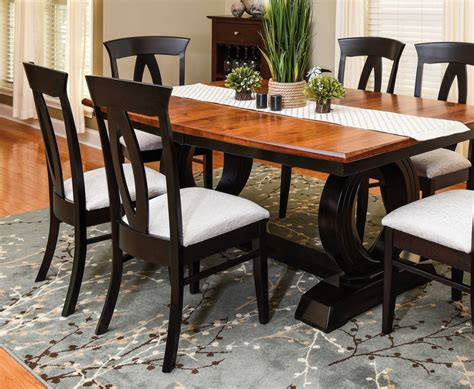 Amish Dining Room Gorgeous Elm Amish Made Dining Room Set In Miller 39 S Random Post Image Home Design Ideas
