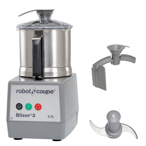 Blender Robot Coupe robot coupe blixer3 vertical commercial blender mixer w 3 5 qt capacity 1 speed stainless