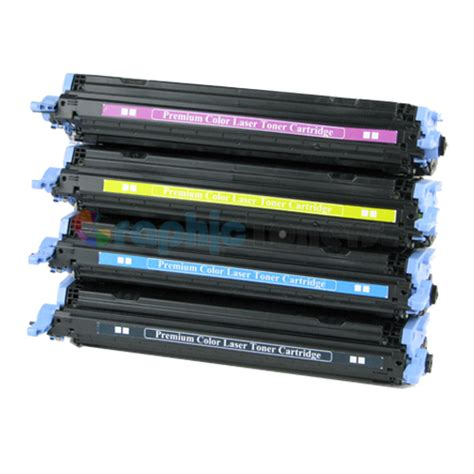 Toner Q6003a premium compatible hp q6000a q6001a q6002a q6003a 124a color laser toner cartridge set