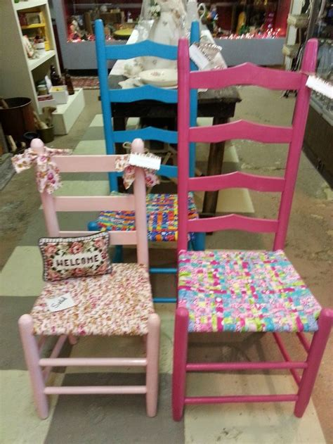 How To Weave A Chair Seat by 1000 Ideas About Fabric Chairs On Painted