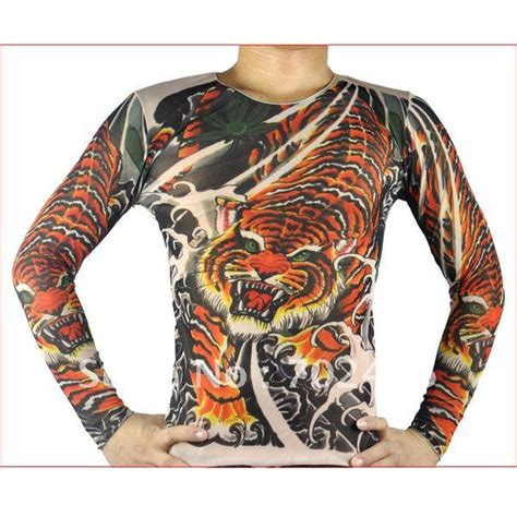 fake tattoo app online long sleeve fake tattoo t shirt mix designs with special