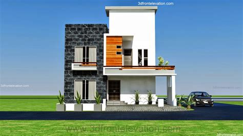 Best Floor Plan Apps by 3d Front Elevation Com 10 Marla Modern Architecture
