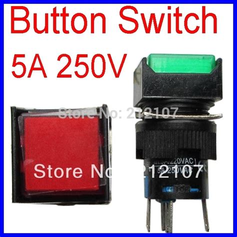 Push Button Switch Cr 301 1 5a 250vac 30mm Hanyoung la128a las1 power switch button switch buttons 5a 250vac non locking 5pin with light jpg