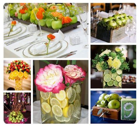 arreglos para bodas ideas de florales frutales y con decora tu boda con frutas