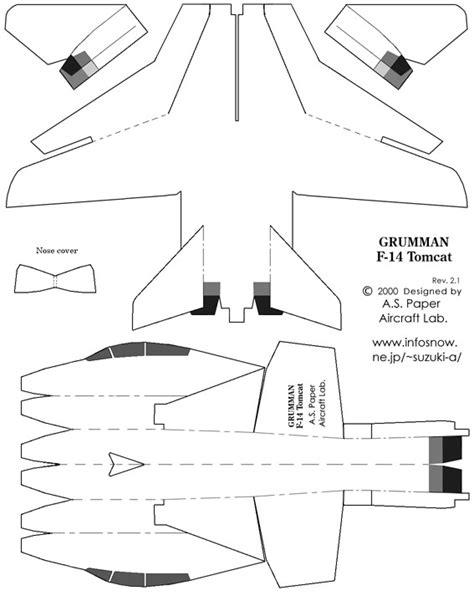 aeromodelli di carta volanti f 14