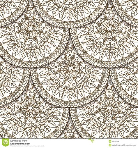 design elements scale seamless geometric pattern in fish scale design royalty