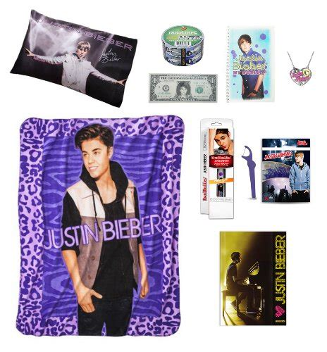 ultimate justin bieber gift basket perfect for christmas