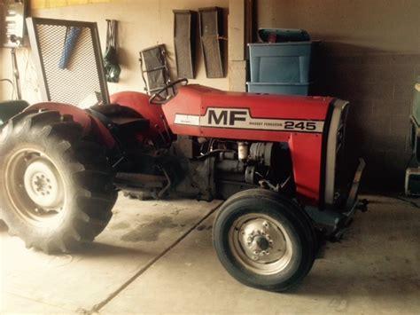1982 Massey Ferguson Model 245 Tractor Flagstaff Horse Properties