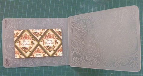 Embossed Panel Card Templates 02097 by Embossed Card Craft N Home