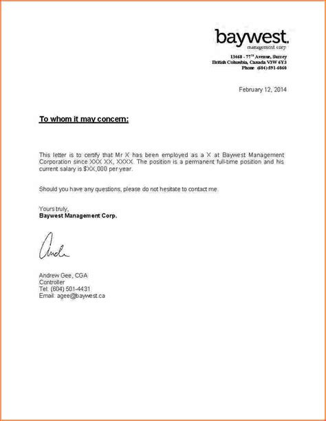 Mortgage Letter Confirming Employment important documents client mortgages