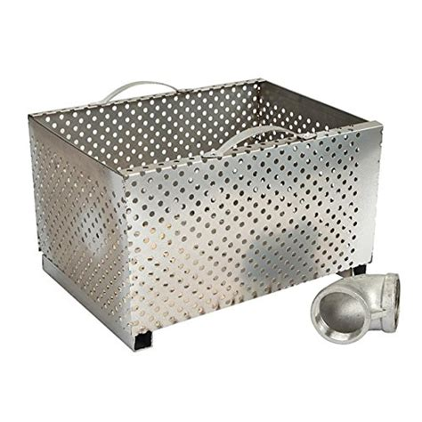 grease trap with removable baffle made carbon steel by beamnova commercial 25lb 13gpm gallon per minute grease
