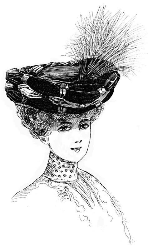 1850 To 1900 Hairstyles For Hats by Womens Edwardian Hats History Titanic Era