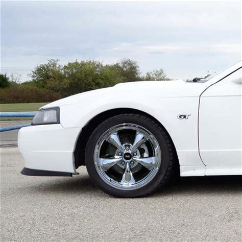 2004 mustang wheels mustang bullitt wheel tire kit 17x9 chrome 94 04