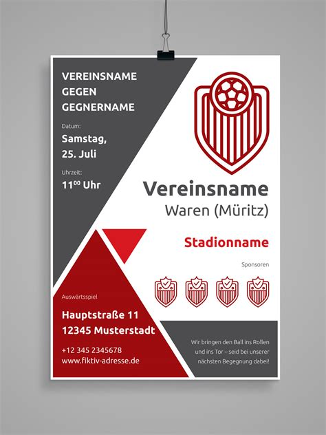 Word Design Vorlagen Anwenden design vorlagen f 252 r euren sportverein