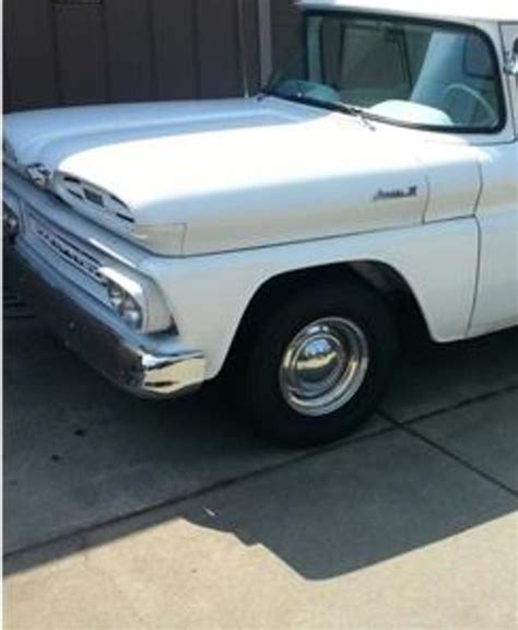 1961 chevrolet apache grants pass or united states 10 000 00 truck exterior color white