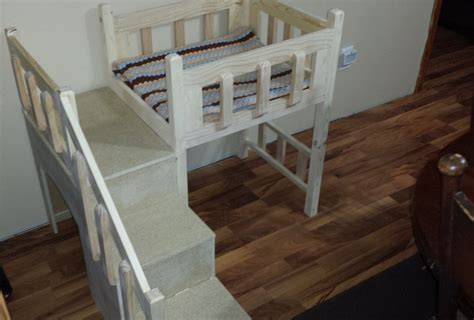 doggie stairs for bed dog bunk beds and their variations