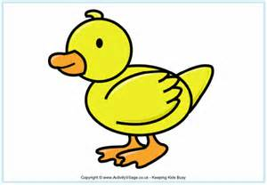 duck poster for kids