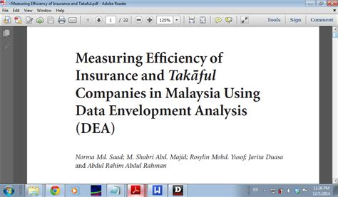 Artikel Internasional Data Envelopment Analysis Dea dear kelas terakhir investment analysis