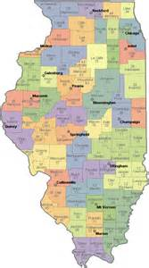 Illinois Area Code Map by Illinois County Map Zip Codes