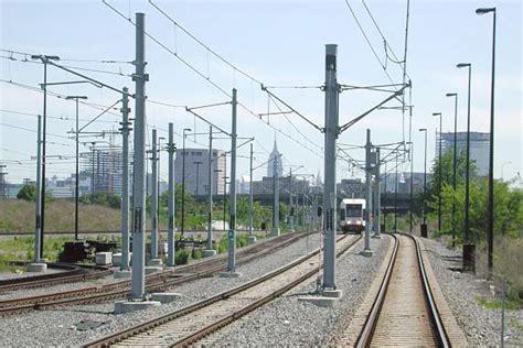 hudson bergen light rail schedule routes merge