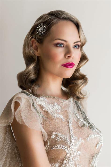 Vintage Bridal Hair Tutorial by 1940s Bridal Makeup Tutorial Jayne Makeup